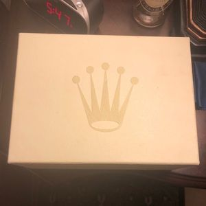 Authentic Rolex box basically brand new no flaws